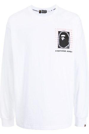 A Bathing Ape Men Long Sleeve - Graphic-print long-sleeve top