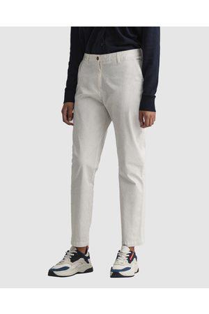 Gant Women Chinos - Fryda Classic Chino - Pants (EGGSHELL) Fryda Classic Chino