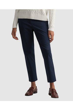 GANT Women Chinos - Fryda Classic Chino - Pants (MARINE) Fryda Classic Chino
