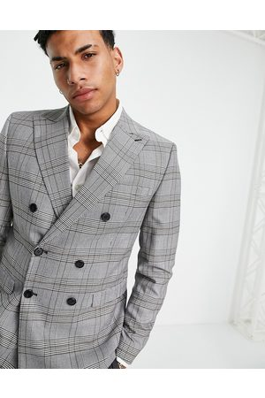 SELECTED Men Suits - Skinny fit suit jacket in check