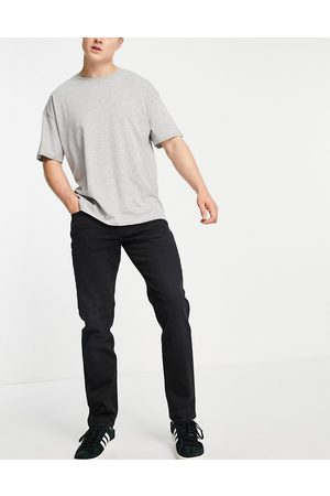 SELECTED Organic cotton blend straight fit jeans in