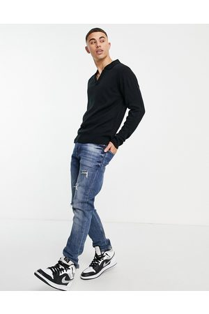 Another Influence V-neck collar jumper in