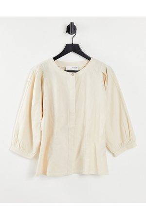 SELECTED Women Blouses - Cecile blouse in cream-White