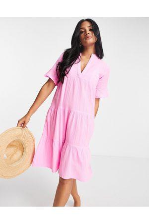 Accessorize Women Casual Dresses - Trapeze dress in