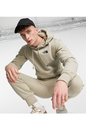 The North Face Essential hoodie in Exclusive to ASOS-Brown
