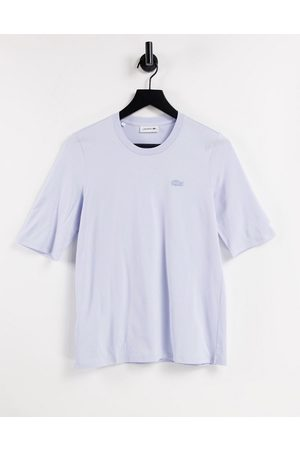 Lacoste Oversized logo T-shirt in pink