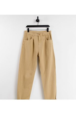 Reclaimed Inspired '83 unisex relaxed fit jeans in sand-Brown