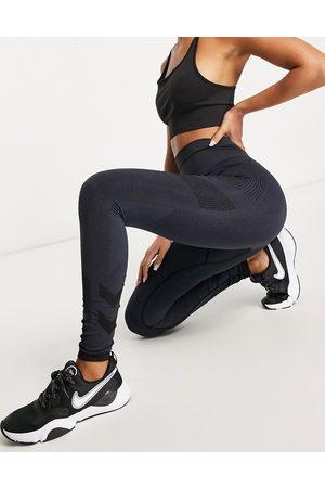 Hummel Joy seamless high waist leggings in navy