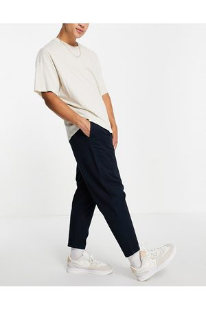 Pull&Bear Oversized tapered chino in