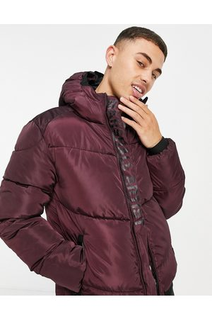 Marshall Artist Paninaro padded jacket in -Red