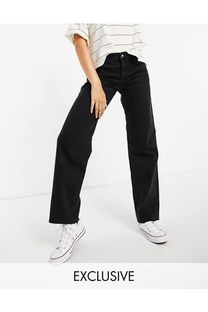 Reclaimed Low dad jeans in washed