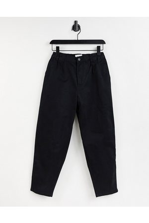 Pull&Bear Oversized tapered chinos in