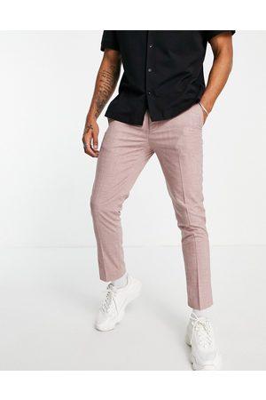 Burton Burton skinny fit suit pants in dusky