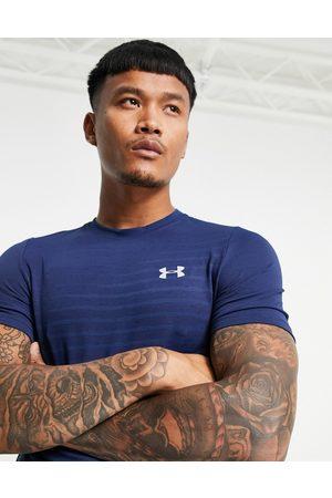 Under Armour Men Short Sleeve - Seamless fade t-shirt in indigo