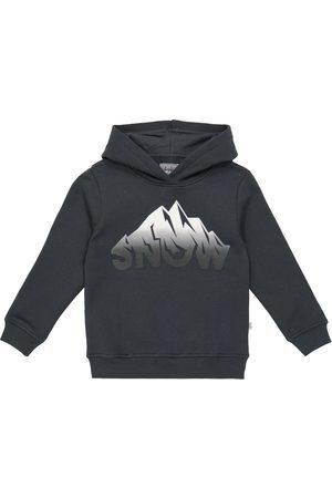 Il gufo Printed cotton hoodie