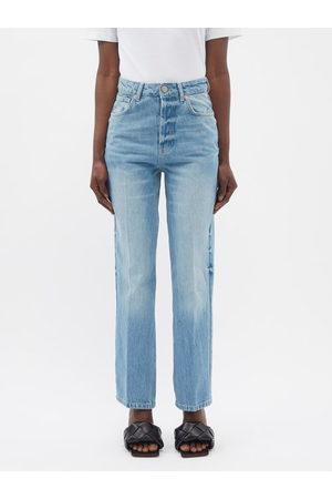 Raey Find Organic-cotton Straight-leg Jeans - Womens - Light