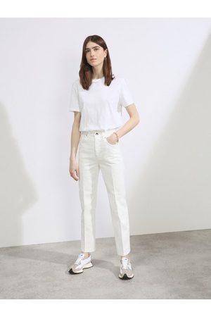 Raey Women Straight - Find Organic-cotton Straight-leg Jeans - Womens