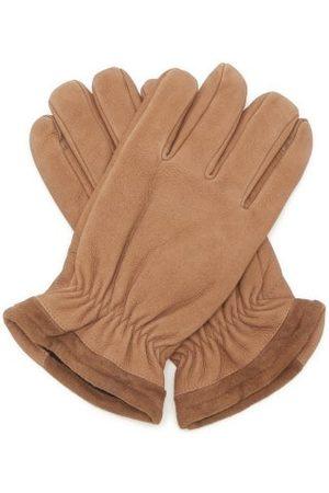 Dents Men Gloves - Farnham Nubuck-leather Touchscreen Gloves - Mens
