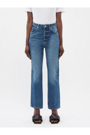 Raey Find Organic-cotton Straight-leg Jeans - Womens - Dark