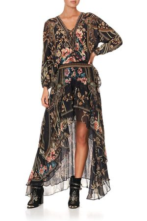 Camilla eBoutique Lace Up Blouse Belle of the Baroque