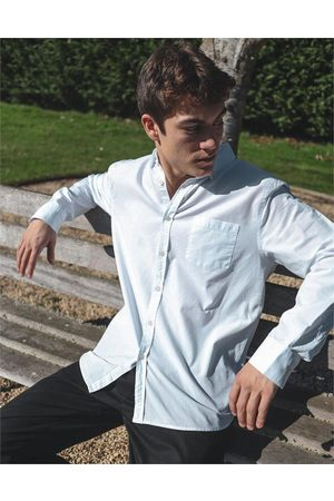 Hallensteins Washed Oxford Long Sleeve Shirt in