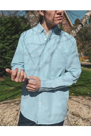 Hallensteins Men Long sleeves - Washed Oxford Long Sleeve Shirt in Oxford