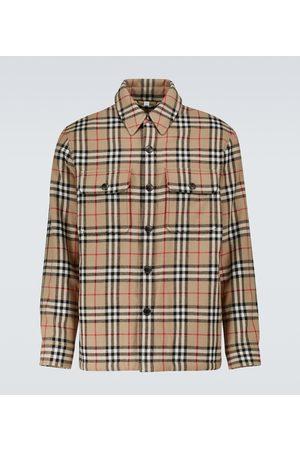 Burberry Men Shirts - Calmore overshirt
