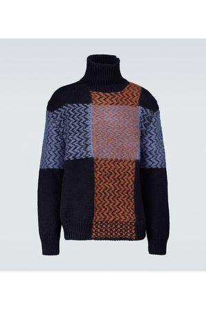 Jil Sander Wool and mohair-blend turtleneck sweater