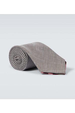 BRAM Men Neckties - Manarola wool and linen tie