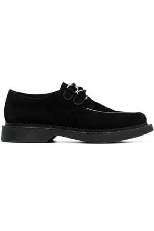 Saint Laurent Teddy suede lace-up shoes