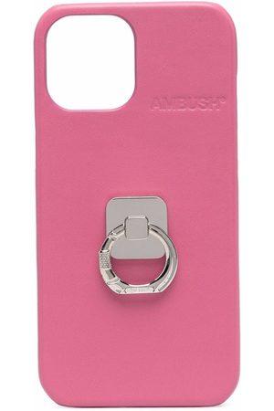 AMBUSH Phone Cases - IPHONE 12 PROMAX CASE B RING SHOCKING P