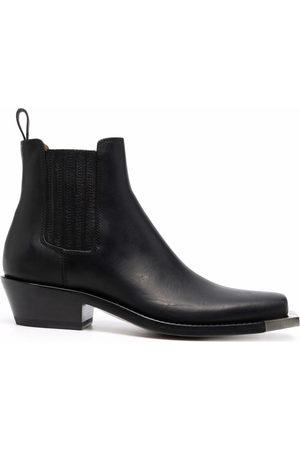 Buttero Women Boots - Square toe chelsea boots