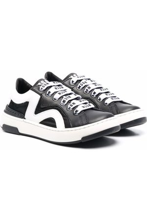 MSGM Kids Boys Sneakers - Low-top lace-up trainers