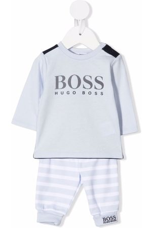 BOSS Kidswear Sets - Logo print tracksuit set