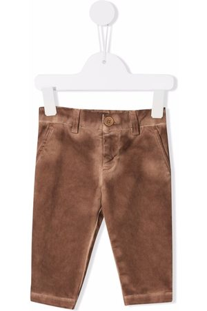 Dondup Kids Faded-effect straight-leg jeans