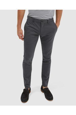 SABA Judd Slim Dress Chino Pant - Pants (Charcoal) Judd Slim Dress Chino Pant