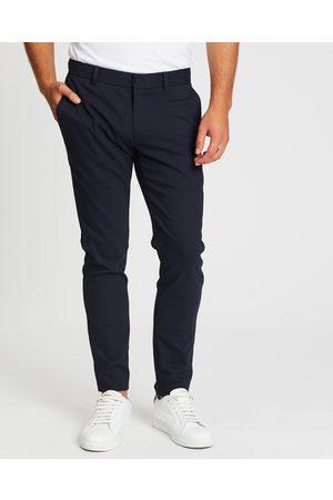 SABA Judd Slim Dress Chino Pants - Pants (Dark Navy) Judd Slim Dress Chino Pants