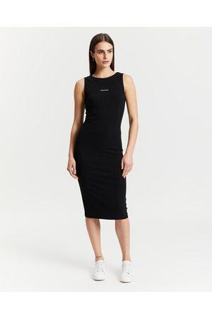 Calvin Klein Rib Knit Bodycon Dress - Bodycon Dresses Rib Knit Bodycon Dress