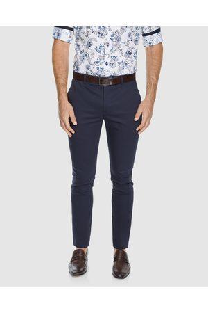 Tarocash Rapid Slim Super Stretch Pant - Pants (NAVY) Rapid Slim Super Stretch Pant