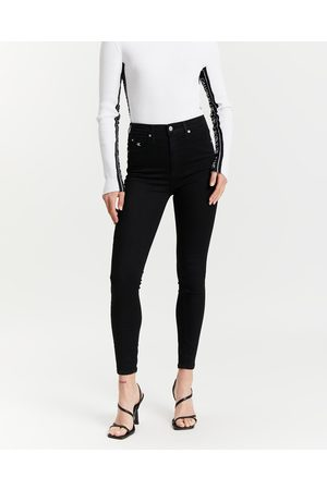 Calvin Klein Women Boyfriend - High Rise Super Skinny Ankle Jeans - Jeans High Rise Super Skinny Ankle Jeans