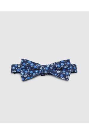Oxford Cotton Ditzy Floral Bow Tie - Ties Cotton Ditzy Floral Bow Tie