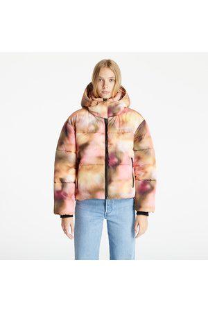 Calvin Klein Women Winter Jackets - Oversized Blurred Print Puffer Blurred Abstract Aop