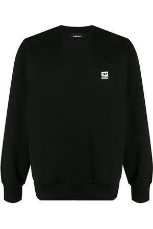 Diesel Logo patch sweatshirt