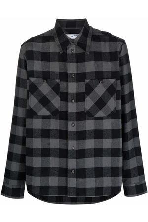 Off-White Plaid flannel shirt