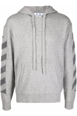 Off-White Arrows-print cashmere hoodie