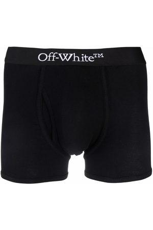 OFF-WHITE Logo-waistband boxer single pack