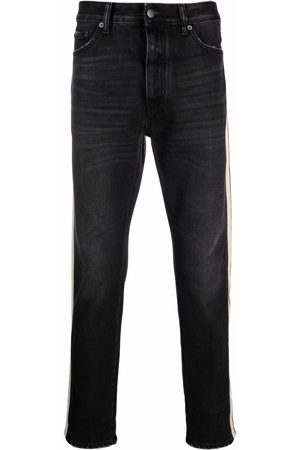 Palm Angels Side striped slim-fit jeans
