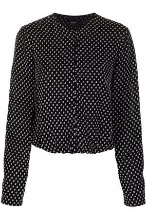 Pinko Women Blouses - Polka dot print blouse