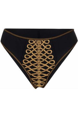 Marlies Dekkers Women Briefs - Embroidered high-rise bottoms