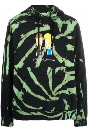 Etudes Men Hoodies - Graphic print tie-dye hoodie
